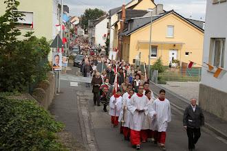 Photo: Processionen er på vej tilbage