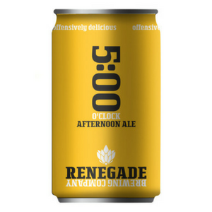 Logo of Renegade 5:00 Afternoon Ale
