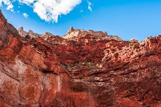 Photo: Bright Angel Trail, up the South Rim of Grand Canyon Nation Park, Arizona, USA