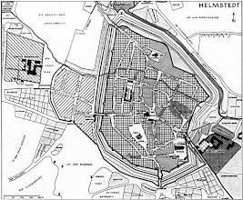 Photo: 1764 - Stadtplan Helmstedt