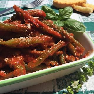 Basil Sauce Green Beans Recipes