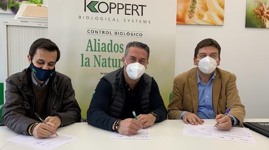 Koppert contribuye a la formación en control biológico