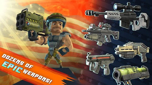 Screenshot 3 Major Mayhem 2 - Gun Shooting Action 1.11.2018101216 APK MOD