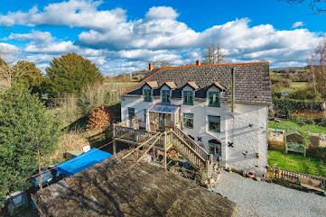 Substantial Abermule home