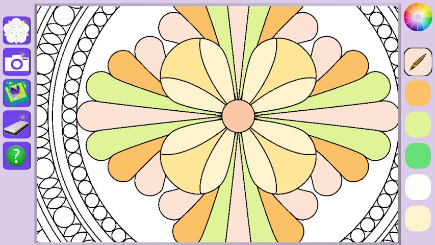android De Stress Mandala Painting Screenshot 1