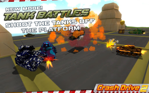 Crash Drive 2: 3D racing cars 3.55 screenshots 3