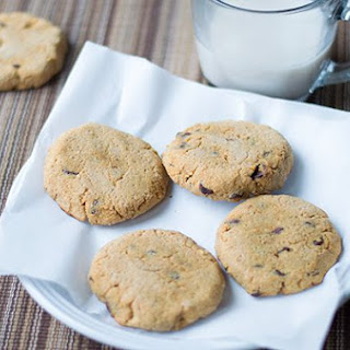 Chewy Coconut Flour Chocolate Chip Cookies
