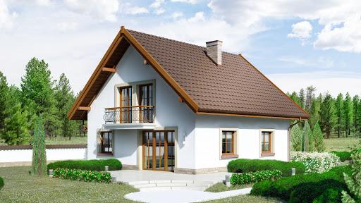 projekt Dom przy Oliwkowej 3 H