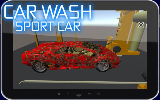 Car Wash Sport Car