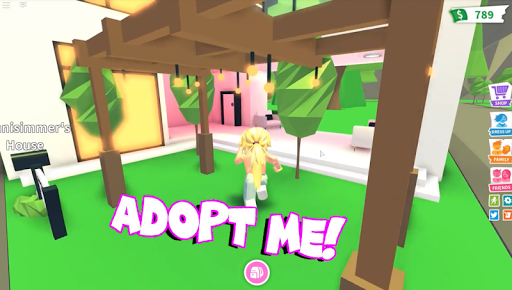 New Futuristic House With Pool! Roblox: Adopt Me! Mod Apk ...