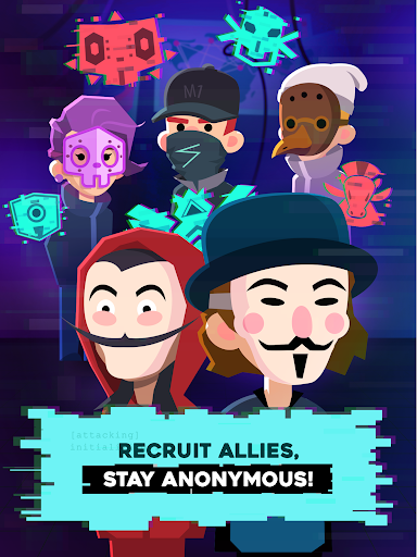 Hacking Hero - Cyber Adventure Clicker screenshots 9