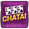 Chatai : Teen Patti Solitaire online multiplayer icon