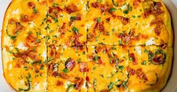 Jalapeño Popper Breakfast Casserole
