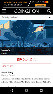Goings On: The New Yorker- screenshot thumbnail