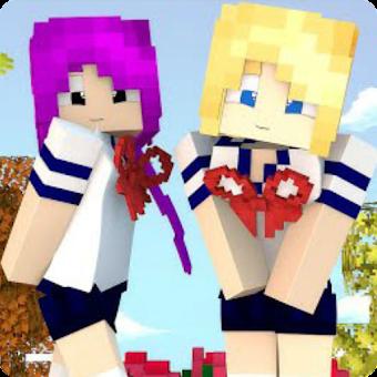 Yandere Girls Skins For Minecraft PE Hileli APK Indir Mod Apk Download - Skin para minecraft pe yandere