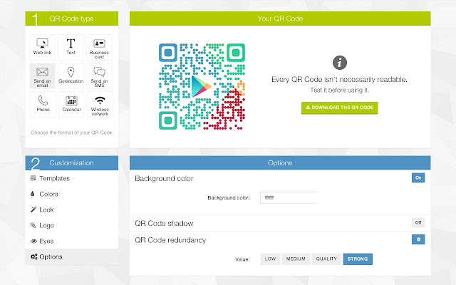 Qr code generator by unitag chrome web store colourmoves