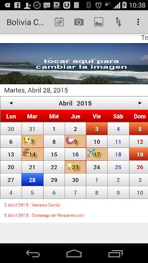 Bolivia Calendario 2015