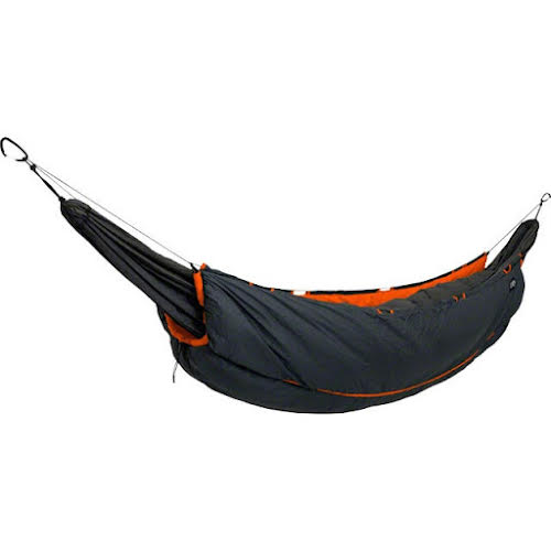 Eagles Nest Outfitters Vulcan Underquilt, Primaloft, Charcoal/Orange