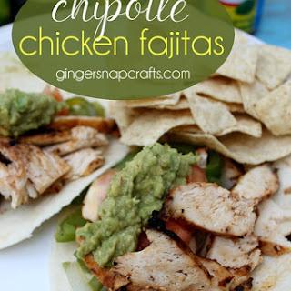 Chipotle Chicken Fajitas {recipe} & Deluxe Grilling Giveaway #KingOfFlavor.
