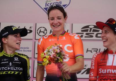 Marianne Vos blijft drie landgenotes voor in tweede rit Giro Rosa