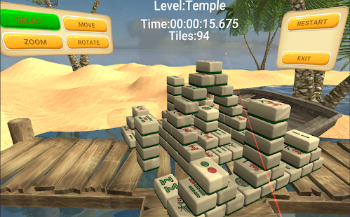 VR Mahjong worlds Screenshot