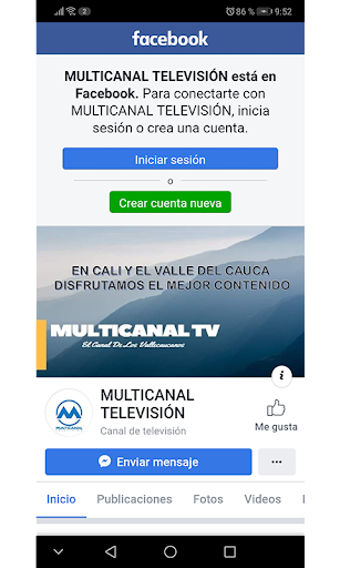 Multicanal Televisión screenshot 2