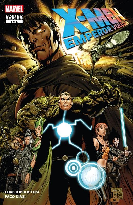 X-Men: Emperor Vulcan (2007) - complete