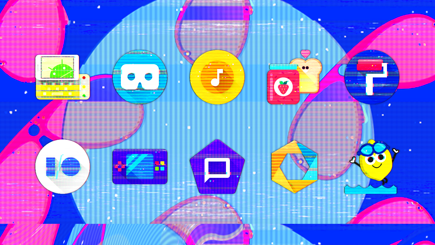 Glitch - Icon Pack- screenshot