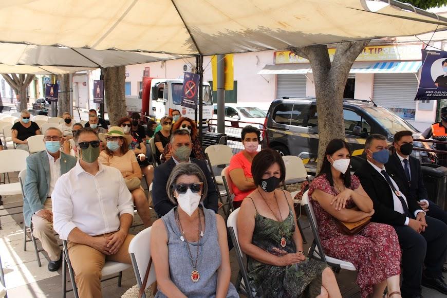Asistentes al acto institucional del Día del Municipio.