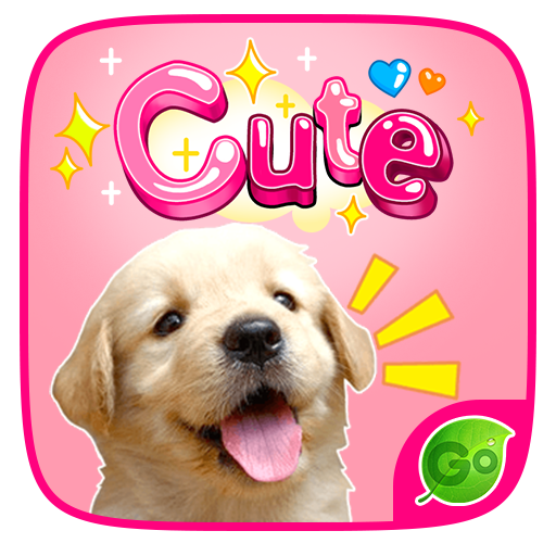 GO Keyboard sticker Cute 個人化 LOGO-玩APPs