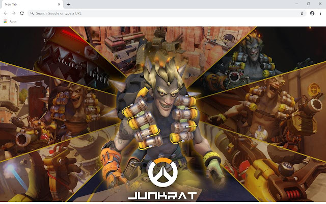 Overwatch HD Wallpapers and New Tab