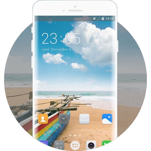 App Insights: Theme for Huawei Honor 3 Beach wallpaper | Apptopia
