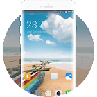 Theme for Huawei Honor 3 Beach wallpaper icon