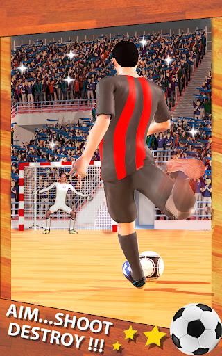 Shoot Goal  Football de Futsal captures d'u00e9cran 1