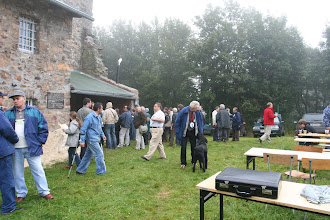 Photo: Na wspólnym spotkaniu Terenowych Oddziałów Dolnośląskiego i Sudeckiego na górze Chełmiec k/ Wałbrzycha 8 września 2007 r.