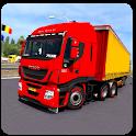 Euro Truck Driver in City Driving Sim 2019 icon
