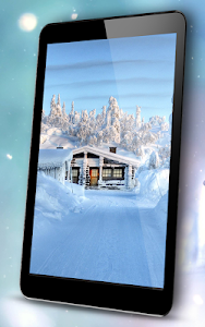 Romantic Snow Live Wallpapers screenshot 5