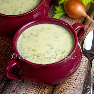 Cream of Broccoli Cheddar Soup.
