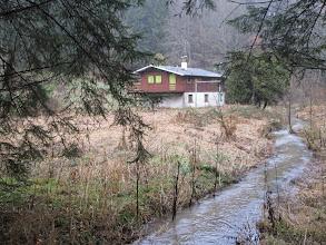 Photo: un chalet du Tirol de Bitche remonté ici