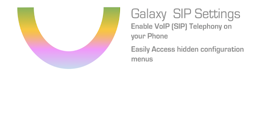 Galaxy SIP Settings - Apps on Google Play