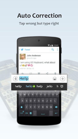 GO Keyboard Lite + Emoji 2.60 screenshot 219475