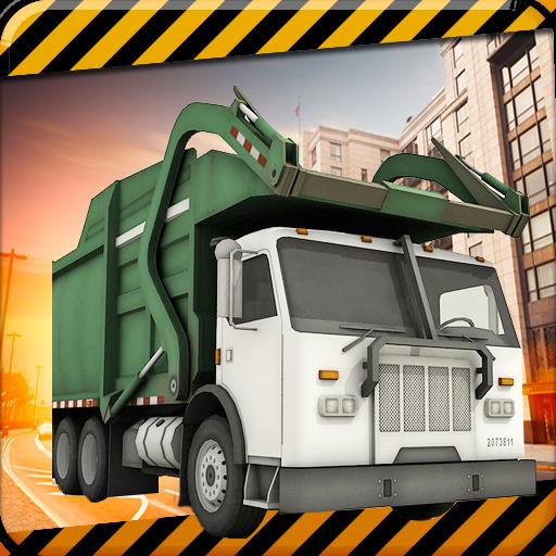 模拟の都市ごみトラック運転3D LOGO-記事Game