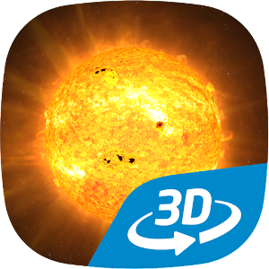 The Sun interactive educational VR 3D