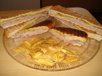 Cuban Sandwich & Midnight Sandwich (Cubano & Media Noche Sandwich)