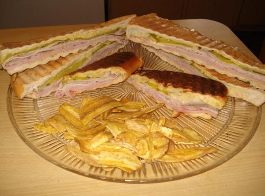 Cuban Sandwich Amp Midnight Sandwich Cubano Amp Media Noche Sandwich Recipe Just A Pinch