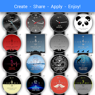 Watch Face - Minimal & Elegant Screenshot 3