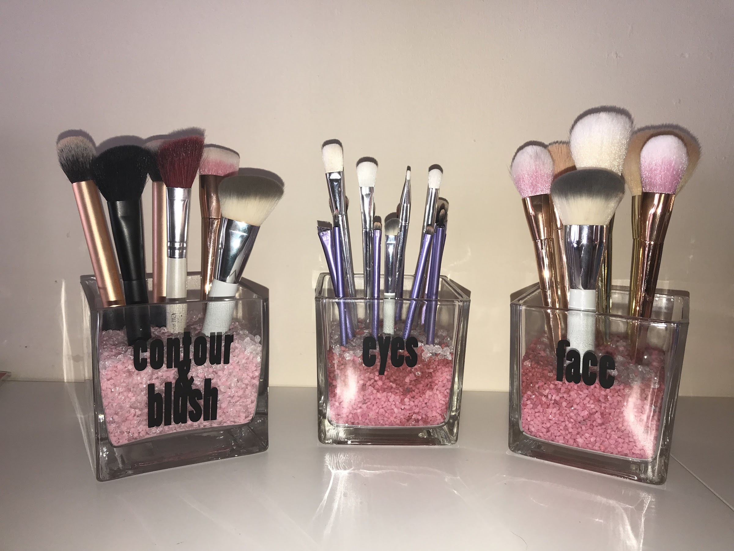 Beauty and more by Christina makeup brush holder diy