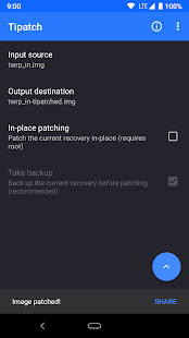 Tipatch • Backup internal storage Screenshot