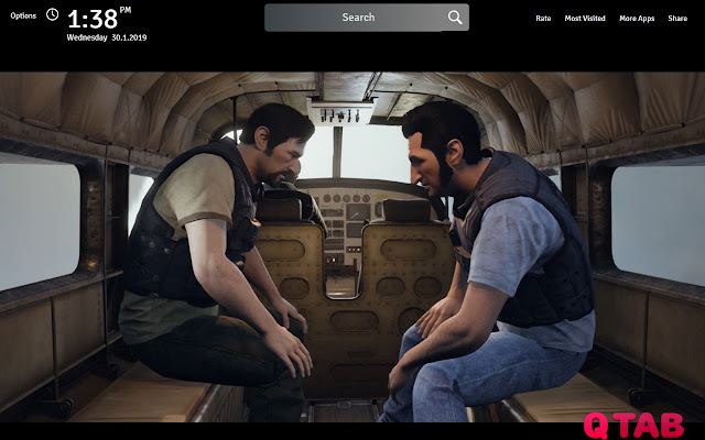 A Way Out Wallpapers New Tab