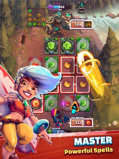 Super Spell Heroes - Magic Mobile Strategy RPG  screenshots 8